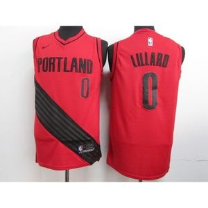 Portland Trail Blazers Damian Lillard Jersey (7)